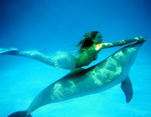Ханна Фрейзер совсем не боится морских обитателей