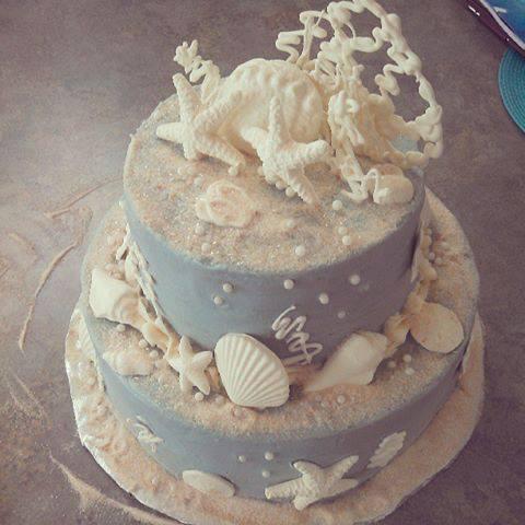 Торт русалки