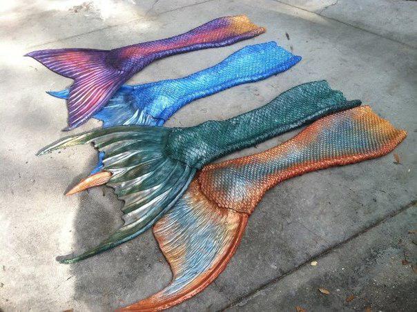 Хвост русалки