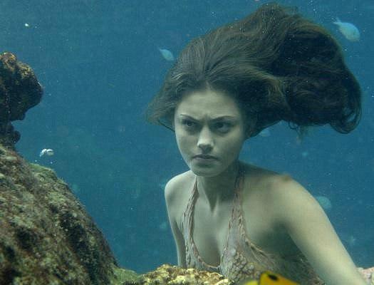Клео под водой