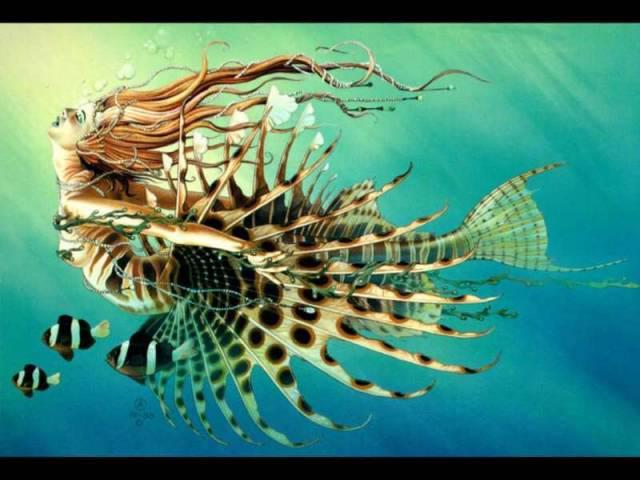 Русалки могут обитать в соленых морях