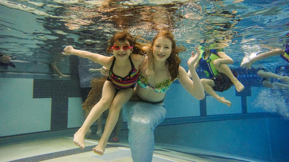 Подводное фото с настоящей русалкой - что может быть лучше?