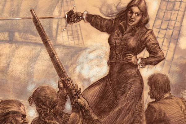 Женщины-пираты тоже встречались