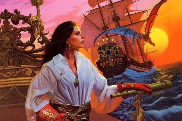 Жанна Де Бельвиль - женщина пиратка
