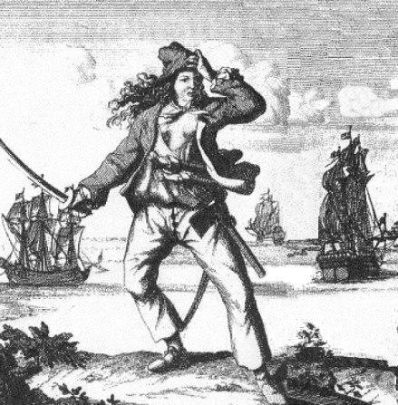 Быть пираткой - занятие очень опасное.