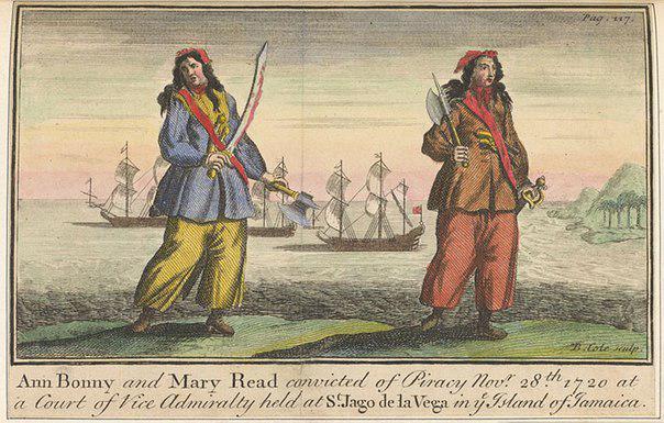 Анна Бонни была пираткой