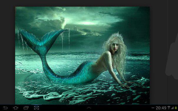 Морская русалка
