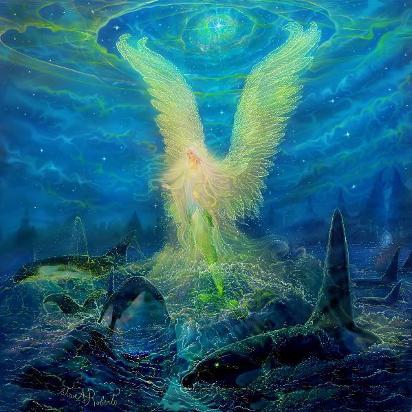 Русалки становятся ангелами-хранителями