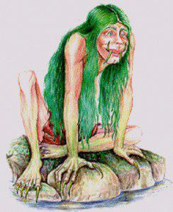 Русалка Дженни Зелёные Зубы