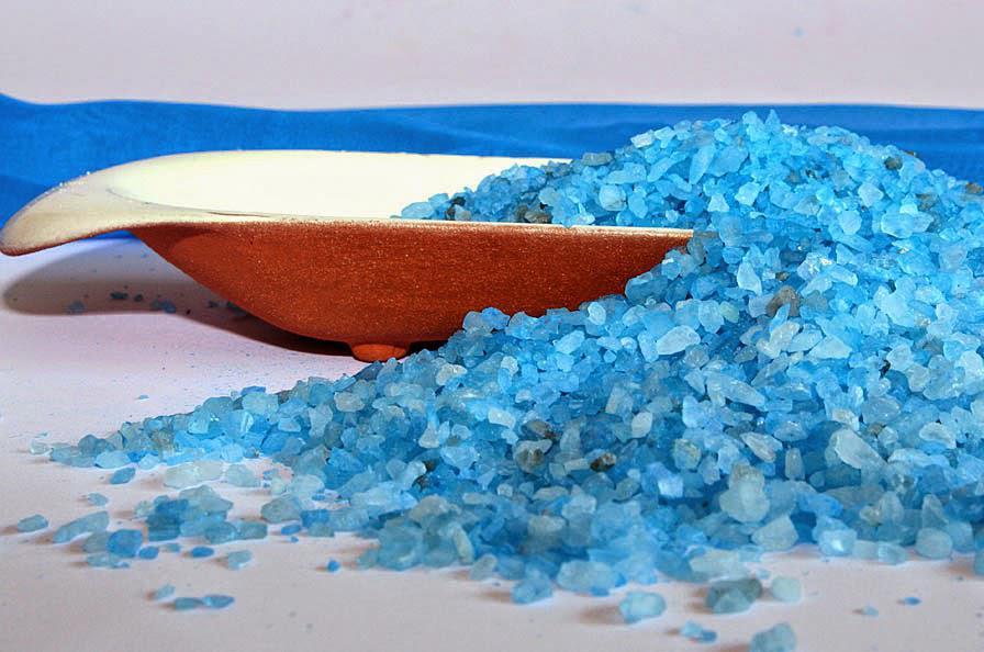 Морская соль- хорошее средство для ухода за волосами