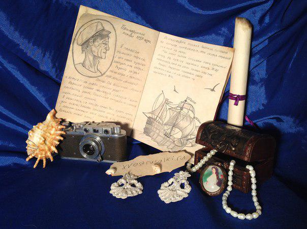Дневник русалки идеально подойдет для украшения интерьера