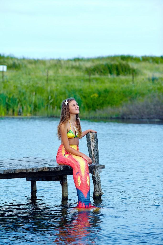 Фотосессия на день ивана купалы в хвосте русалки