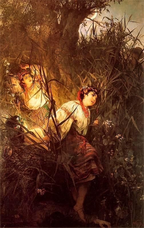 Русалки (1877), Витольд Пружковский.