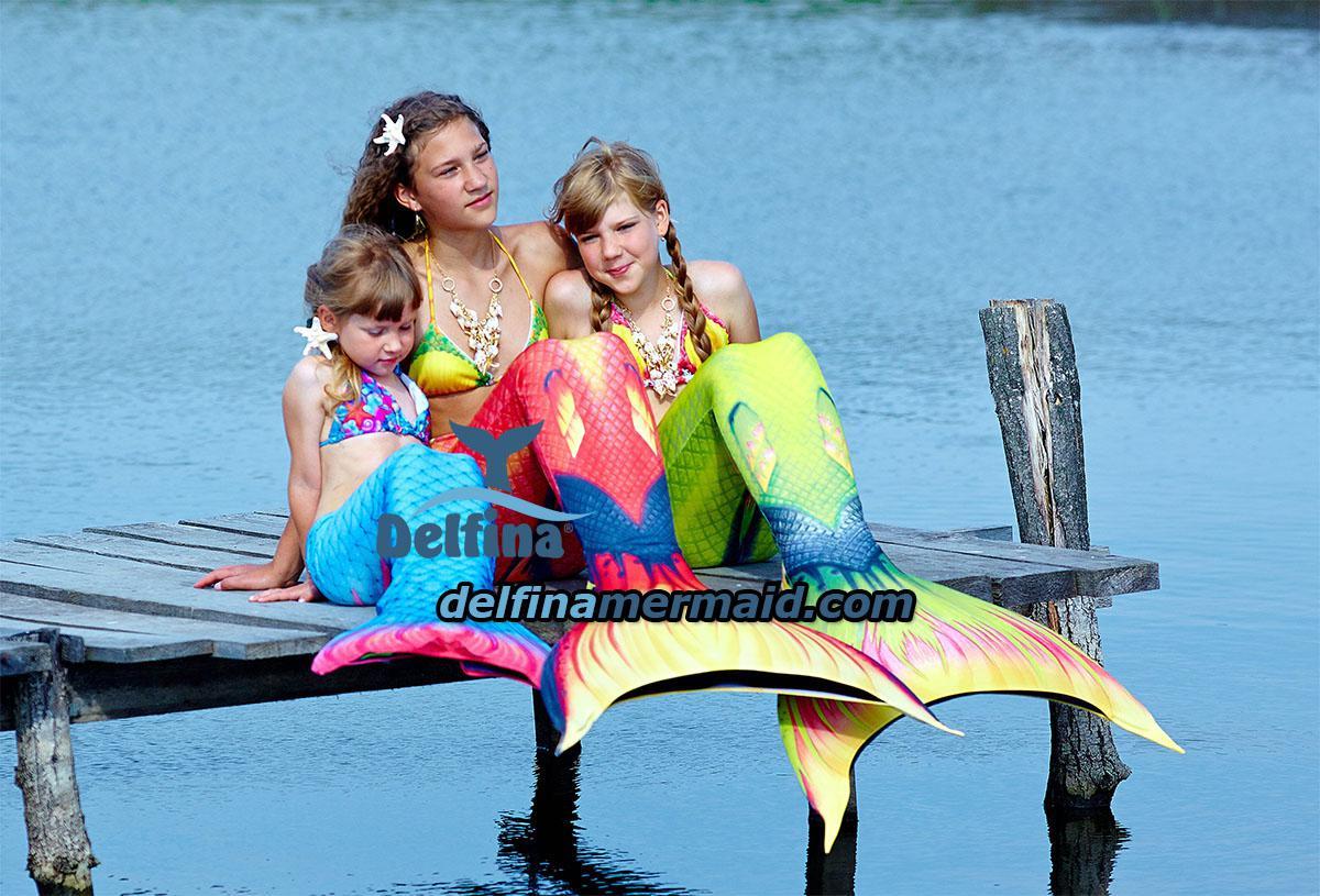 Идеальные Хвосты русалок для гавайских русалочек