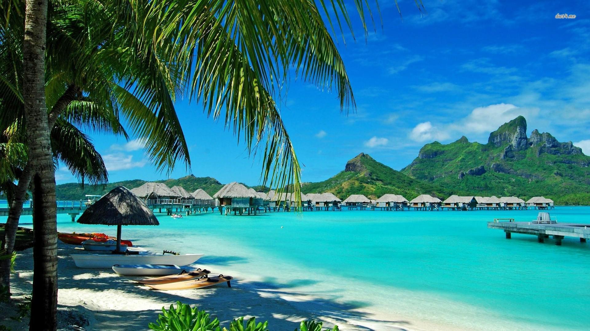 Солнечный берег на Гавайях