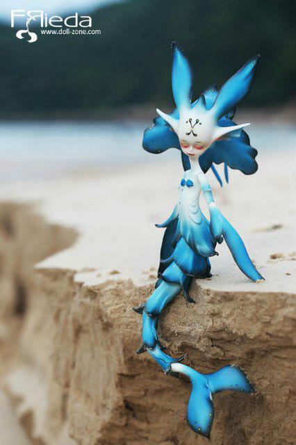 Куколка русалка бжд Трида