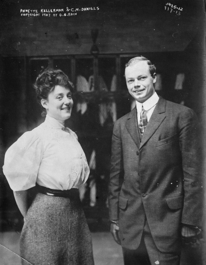 Аннет с супругом