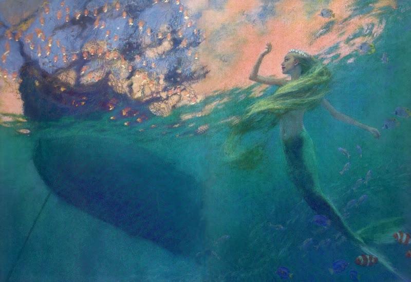 Christian Birmingham «Русалочка» русалочка бросается спасать принца