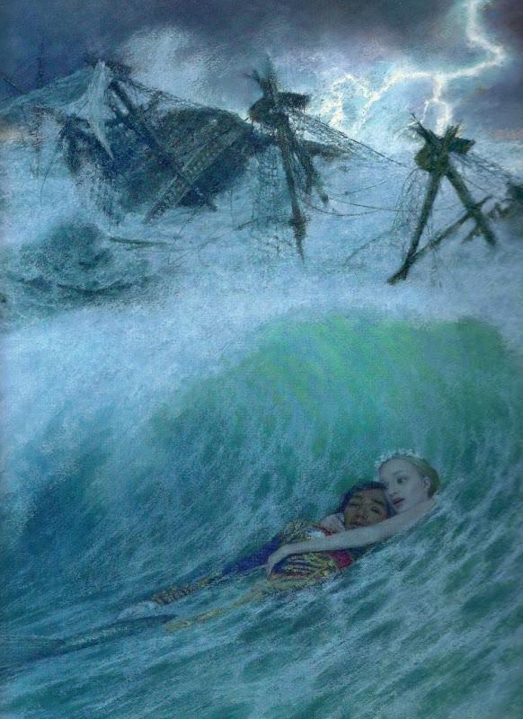 Christian Birmingham «Русалочка» русалочка спасает принца