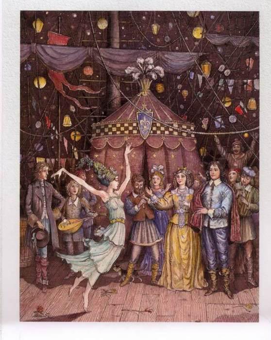 Русалочка Андерсена иллюстрации Бориса Диодорова рисунок 14