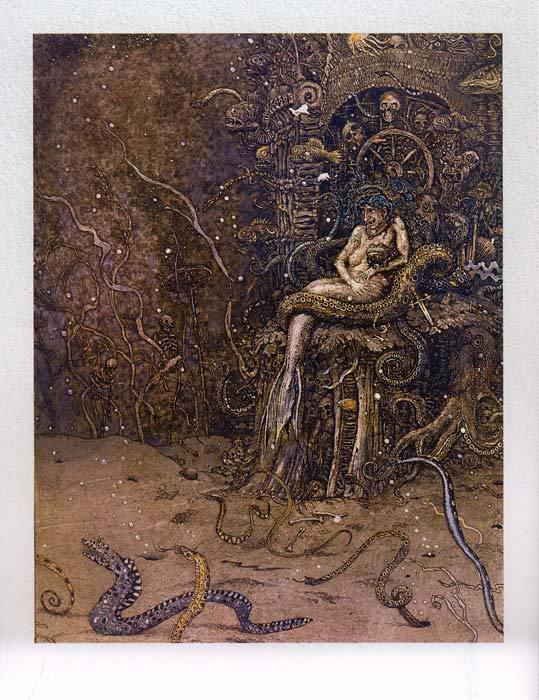 Русалочка Андерсена иллюстрации Бориса Диодорова рисунок 16