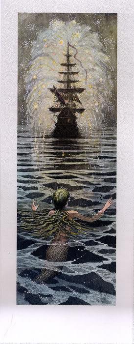 Русалочка Андерсена иллюстрации Бориса Диодорова рисунок 7