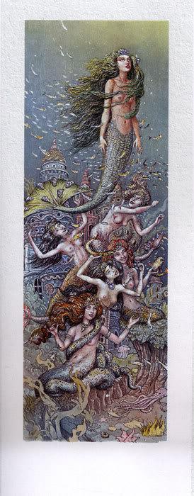 Русалочка Андерсена иллюстрации Бориса Диодорова рисунок 5