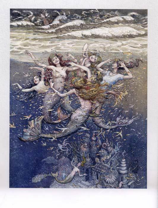 Русалочка Андерсена иллюстрации Бориса Диодорова рисунок 4