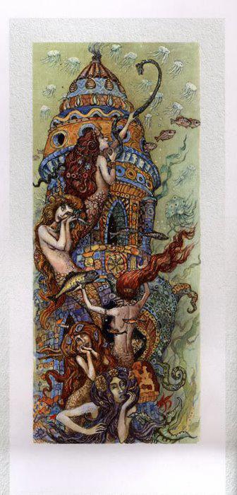 Русалочка Андерсена иллюстрации Бориса Диодорова рисунок 10