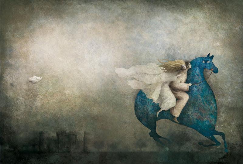 Еще рисунок Габриэля русалочка