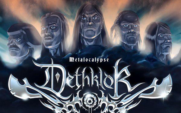 Мультсериал Металлопокалипсис. Песня вымышленной группы Deathclock - murmaider