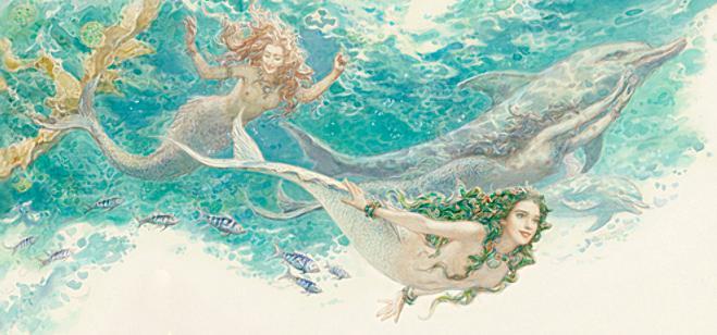 Русалочка Андерсен в иллюстрациях Антона Ломаева, 2012 рисунок 1
