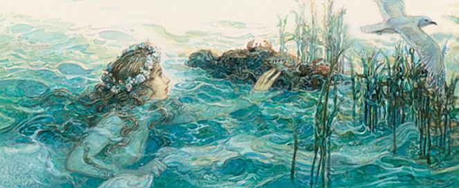 Русалочка Андерсен в иллюстрациях Антона Ломаева, 2012 рисунок 12
