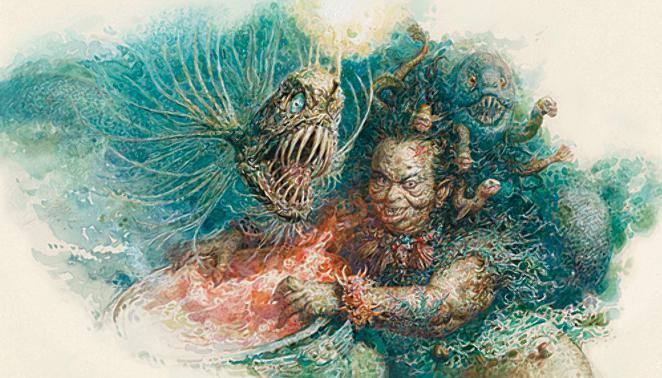 Русалочка Андерсен в иллюстрациях Антона Ломаева, 2012 рисунок 16