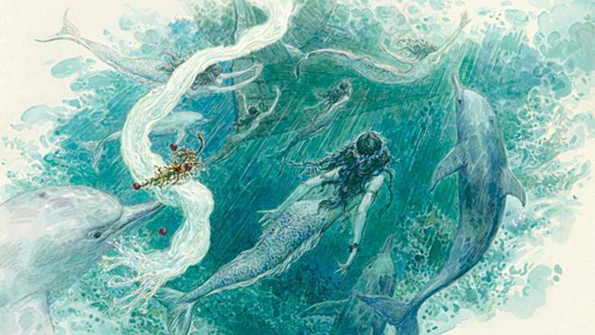 Русалочка Андерсен в иллюстрациях Антона Ломаева, 2012 рисунок 18
