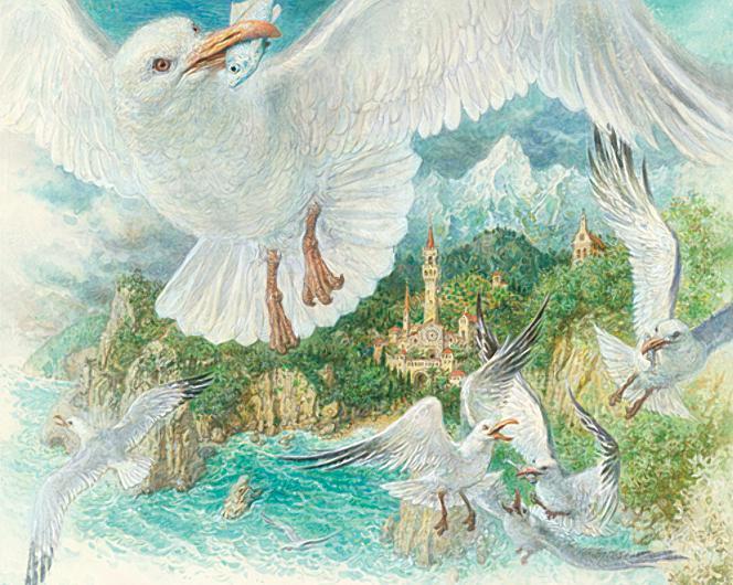 Русалочка Андерсен в иллюстрациях Антона Ломаева, 2012 рисунок 9