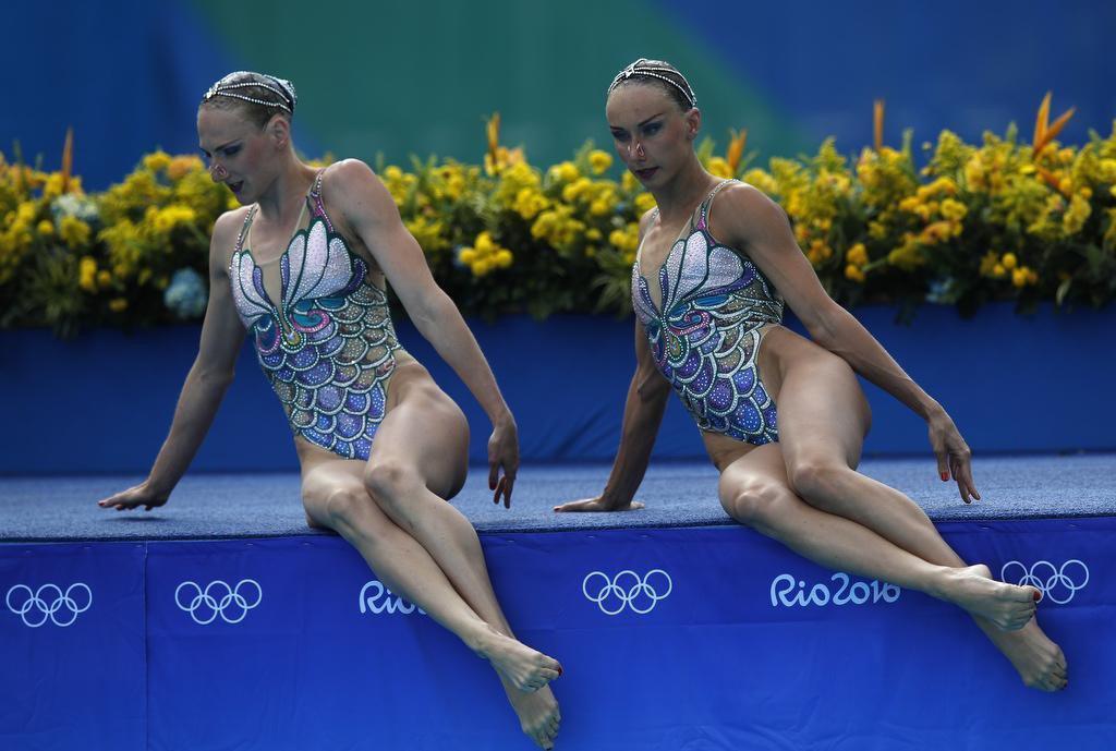 Костюмы и образы русалок у спортсменов
