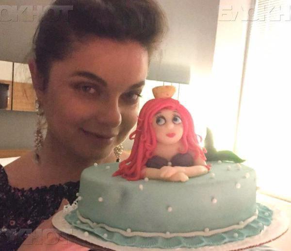 торт с русалкой