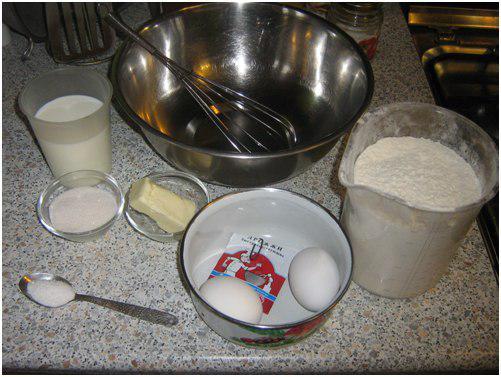 Пирог русалка приготовление шаг 1